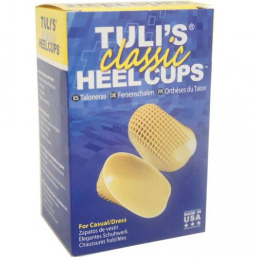 รองช้ำ ปวดส้นเท้า บรรเทาได้ ด้วย แผ่นซัพพอร์ทส้นเท้า  Tuli\'s Heel Cups รุ่น Classic สำหรับรองเท้าคั