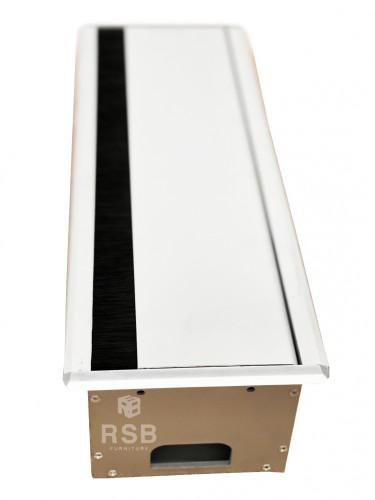 กล่องรางไฟอลูมิเนียม โต๊ะประชุม รหัส 1787