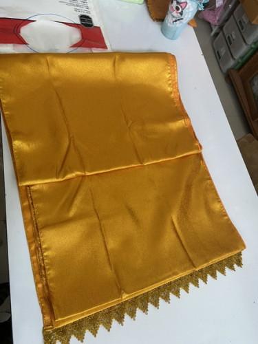 ผ้ารองพาน ผ้าห่มพระพุทธรูป ผ้าสไบห่มพระ ผ้าคลุมพาน ผ้าห่มเจดีย์ 8