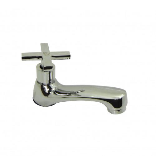 ก๊อกอ่างล้างหน้า-ล้างมือ ทองเหลือง สี่แฉก