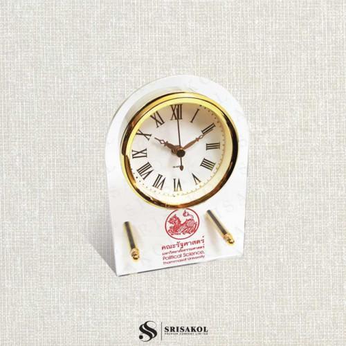 นาฬิกาตั้งโต๊ะ เรือนใส รหัส A2104-14C