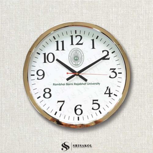 นาฬิกาแขวน 15 นิ้ว ขอบเล็กสีทอง รหัส A2103-2C