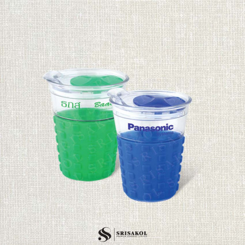 แก้วน้ำ Acrylic นำเข้า  รหัส A2107-2I