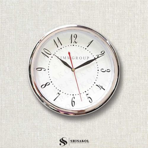 นาฬิกาแขวน 10.2 นิ้ว ขอบชุบเงิน รหัส A2102-16C