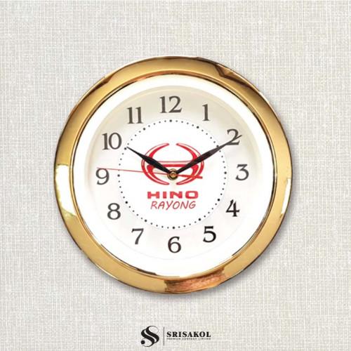 นาฬิกาแขวน 11 นิ้ว ขอบชุบทอง รหัส A2044-10C