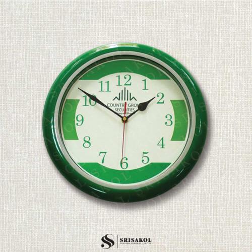 นาฬิกาแขวน 13 นิ้ว ขอบสีเขียว รหัส A2103-19C