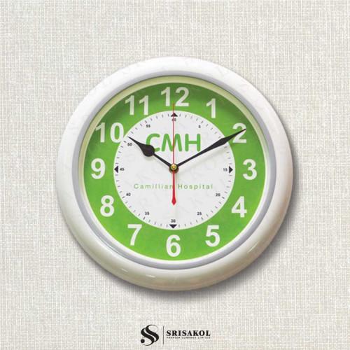 นาฬิกาแขวน 13 นิ้ว ขอบสีขาว รหัส A2103-17C