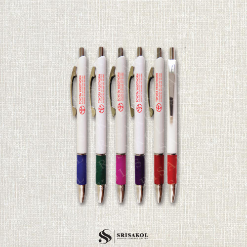 ปากกาลูกลื่น คละสี รหัส A2119-16P