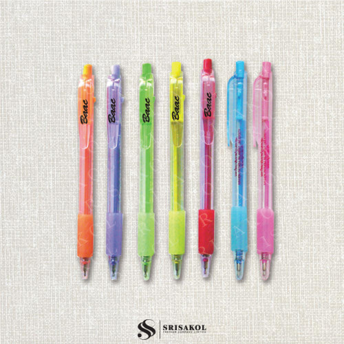 ปากกาลูกลื่น คละสี รหัส A2119-2P