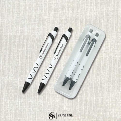 ชุดปากกาดินสอพร้อมกล่อง นำเข้า รหัส A2210-12I