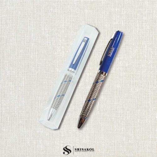 ปากกาโลหะพร้อมกล่องใส นำเข้า รหัส A2210-13I