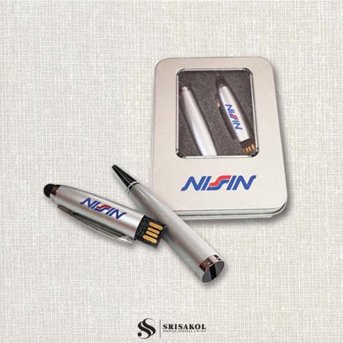 Flash Drive(16 GB) + ปากกา 3 in 1  นำเข้า รหัส A2126-1F