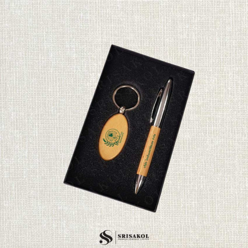 ชุดปากกา+พวงกุญแจ นำเข้า รหัส A2126-13I