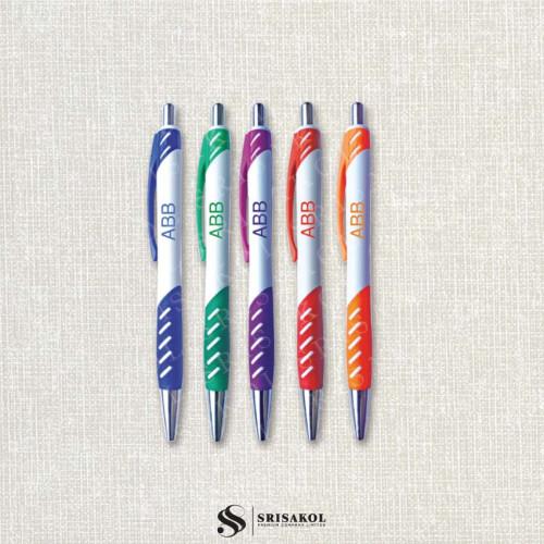 ปากกาลูกลื่น คละสี รหัส A2037-13P