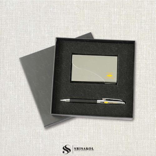 ชุดปากกา+ตลับนามบัตร นำเข้า รหัส A2126-15I