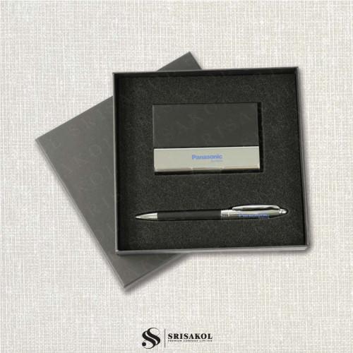 ชุดปากกา+ตลับนามบัตร นำเข้า รหัส A2126-17I