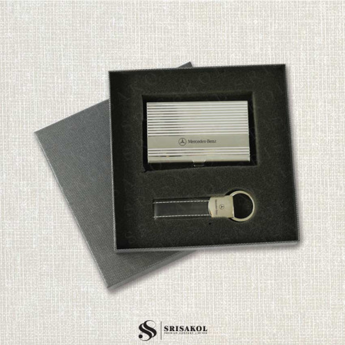 ตลับนามบัตร+พวงกุญแจ นำเข้า รหัส A2126-16I