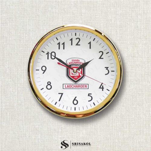 นาฬิกาแขวน 10.2 นิ้ว ขอบทอง รหัส A2102-17C