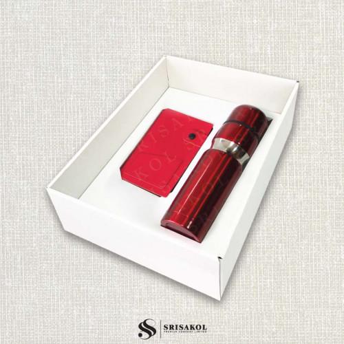 ชุดกระติกน้ำ และ ECO Sticky Note Book พร้อมกล่องฝาทึบ รหัส A2116-6SU
