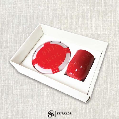 ชุดกล่องอาหารซิลิโคน พับเก็บได้+แก้วน้ำ เก็บร้อน/เย็น พร้อมกล่องฝาทึบ รหัส A2114-6SU