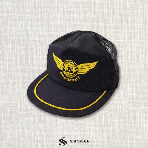 หมวก Cap ผ้าดีวาย+ตาข่าย รหัส A2123-22H