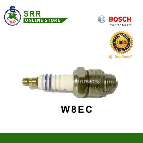 หัวเทียน BOSCH W8EC เกลียวสั้น สำหรับเครื่อง BHPทุกรุ่น