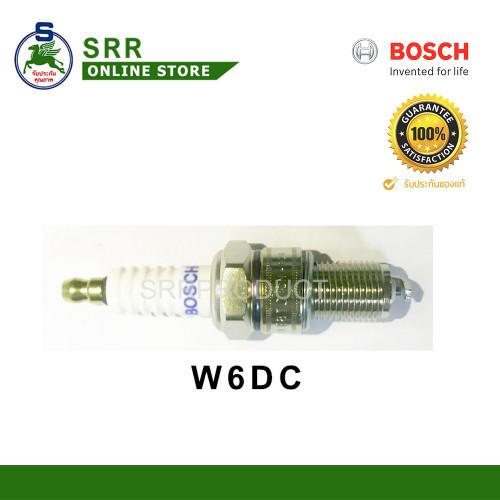 หัวเทียน BOSCH W6DC = W5DC เกลียวยาว สำหรับเครื่อง Honda GX160