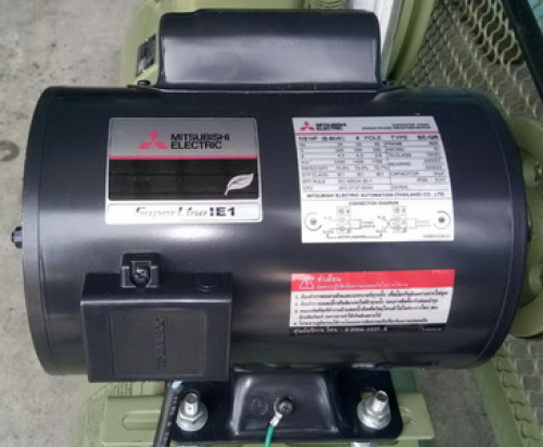 มอเตอร์ MITSUBISHI 10 แรงม้า รุ่น SCL-KR/10HP/4P/220V