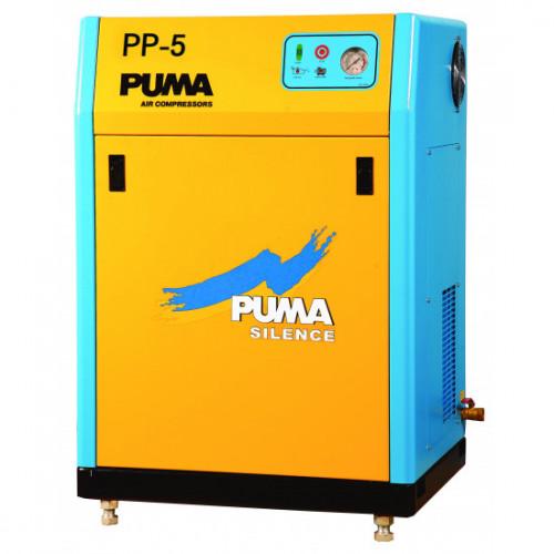 ปั๊มลมพูม่าเก็บเสียง 5 HP 380V. PP-5 ( Silent Type )