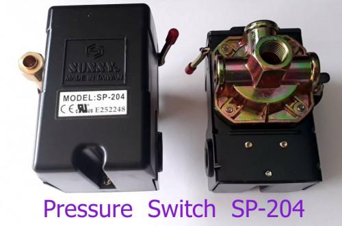 เพรสเชอร์สวิทซ์ปั๊มลม แบบ 4 ทาง ( Pressure Switch )