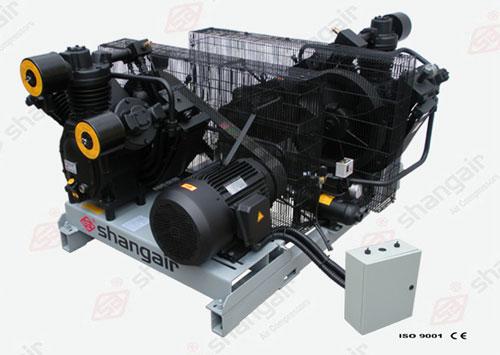 09WM Series Air Compressor (Double-Engine Set)