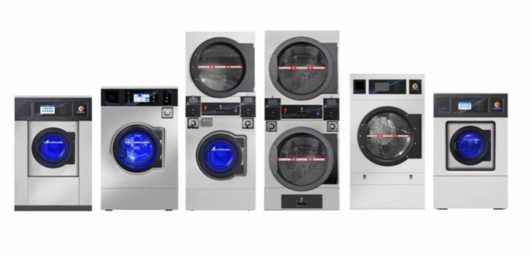 BGT เครื่องซักผ้าหยอดเหรียญแบบอุตสาหกรรม ขนาด 28 กิโลกรัม 1