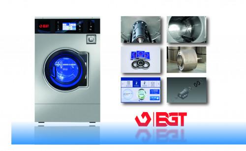 BGT เครื่องซักผ้าหยอดเหรียญแบบอุตสาหกรรม ขนาด 28 กิโลกรัม 2