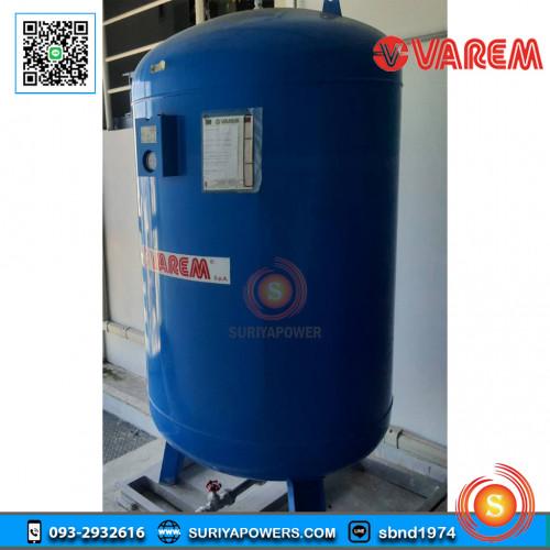 VAREM TANK ถังควบคุมแรงดันน้ำ S3 N10 H62 -1000 ลิตร