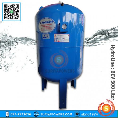 ถังควบคุมแรงดันน้ำ Hydroline 500 ลิตร รุ่น BEV-500