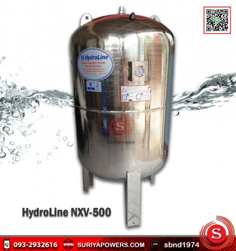 ถังแรงดันน้ำ ไดอะแฟรมสแตนเลส Hydroline รุ่น NXV-500