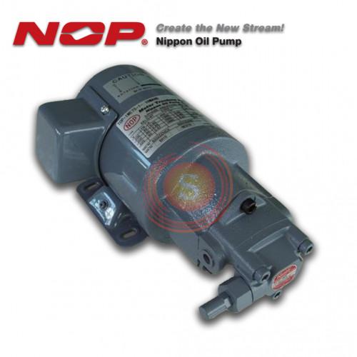 NIPPON OIL PUMP ปั๊มน้ำมันเตา รุ่น TOP-1ME 75-1-2MA