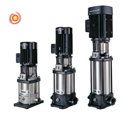 Grundfos -Vertical Multistage In-Line Pump Model : CR10-12