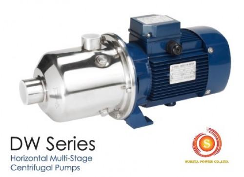 ปั๊มน้ำอิเล็คตร้า รุ่น DW4-40/075 (380V) **ELectra  ปั๊มน้ำหลายใบพัดแนวนอน