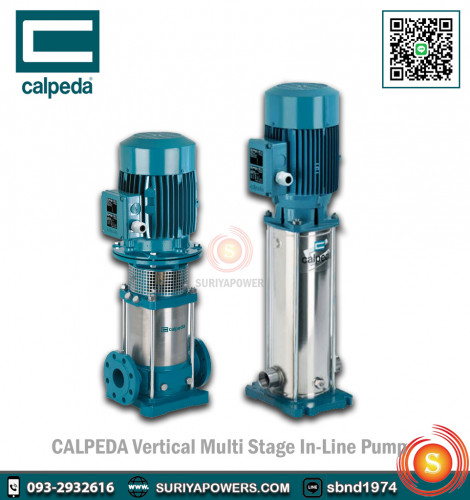 Calpeda Multi-Stage In-Line Pump MXV 80-4805