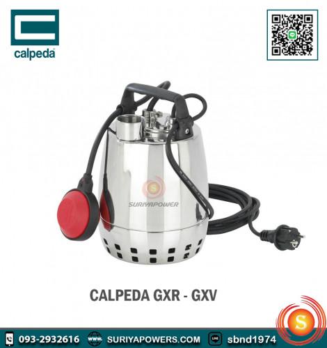 คาลปีด้า Calpeda เครื่องสูบน้ำแบบจมอยู่ใต้น้ำ รุ่น GXRM 9 R