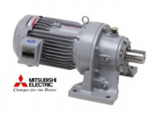 มอเตอร์เกียร์ มิตซูบิชิ Mitsubishi Cyclo Drive Gear Motor รุ่น CNHM05-6090-25 ( 60 rpm)