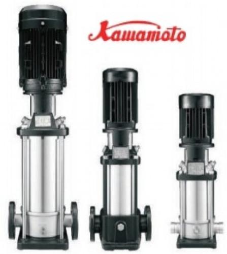 Kawamoto pump - QSB15-8-M7.5F ปั๊มน้ำหลายใบพัดแนวตั้ง