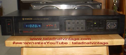 TANIN ธานินทร์ TCD-5560TU Stereo Tuner Synthesizer tuning system