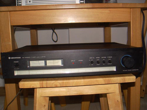 KENWOOD L-07T II High End Stereo Tuner รุ่นใหญ่