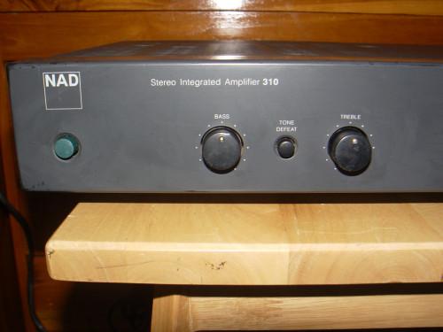 NAD 310 Stereo Integrated Amplifier รุ่นผลิตในอังกฤษ 1