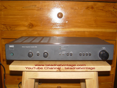 NAD 310 Stereo Integrated Amplifier รุ่นผลิตในอังกฤษ