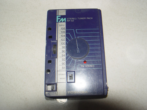 ซาวเบ้าท์ TOSHIBA Stereo Cassette KT-R1 แยกชุดวิทยุได้ เหมาะสะสม 3