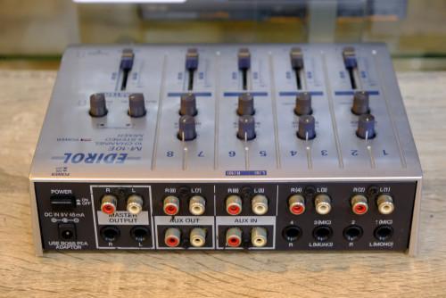 Edirol M-10E 10Ch 5Stereo Mixer สไลด์โวลลุ่มคุณภาพเกรดญี่ปุ่น ไม่มีน๊อยส์ มิกซ์เล็ก คุณภาพดี 1
