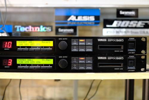 YAMAHA SPX-990 เอฟเฟคร้องที่ดีที่สุดสำหรับงานเวที เสียงหวาน/พุ่ง/พลังเสียงกังวานเต็มอิ่ม(JAPAN) 3
